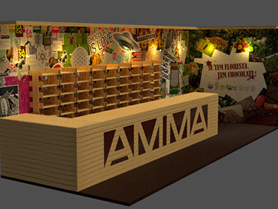 Stand AMMA Chocolate